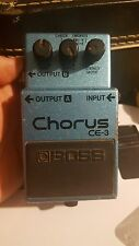 Early 80s Boss CE-3 STEREO CHORUS PEDAL  MIJ JAPAN FREE USA SHIPPING vintage