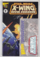 WIZARD 1/2 STAR WARS X-WING ROGUE SQUADRON VF/NM W/CERT