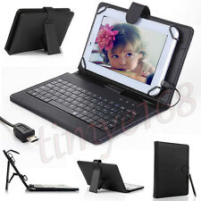 "Case Cover Stand with USB Keyboard for NEW 2015 Amazon Fire 7""inch Kindle Tablet"