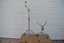 PDP by DW DOUBLE-BRACED BOOM CYMBAL AND SNARE STAND for YOUR DRUM SET! LOT #C893