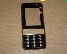Genuine Original Sony Ericsson K660 K660i Front Fascia Cover Housing Black