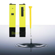 New Digital Ph Meter Tester Hydro Aquarium Water Pool Hydroponic Monitor Pen Ph