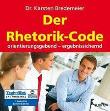 Dr. Karsten Bredemeier - Der Rhetorik-Code - 2 CDs