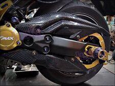 Carbon Fiber Chain Guard Cover for TMAX T-MAX XP 530 12 13 14 15 #lu