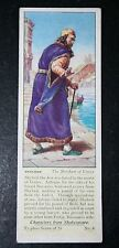 The Merchant of Venice    Shakespeare   Shylock  1930's Vintage Card  #  VGC