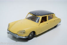 POLITOYS EXPORT 545 CITROEN DS 21 YELLOW EXCELLENT CONDITION