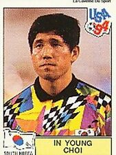 N°168 IN YOUNG CHOI SOUTH KOREA PANINI WORLD CUP 1994 STICKER VIGNETTE 94