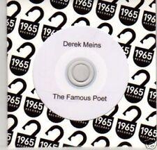 (H949) Derek Meins, The Famous Poet - DJ CD