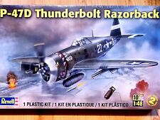 Revell Monogram 1:48 P-47D Thunderbolt Razorback Aircraft Model Kit