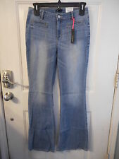 Women's Juniors I Heart Ronson Jeans Size 8 NEW Denim Blue Wash HOT!!  $55