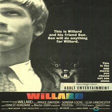 Willard, 1971 Original movie, DVD Video