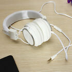 3.5mm Earphone Over-Ear Headphone W/ Mic for iPhone iPod PC Cellphone Adjustable