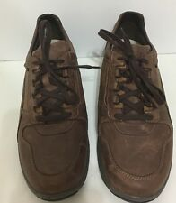 Sano By Mephisto Men's Shoes Size 10 Color Brown Lace Up Shook Absorber