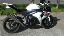 Suzuki GSXR 1000 K7 K8  Stainless Oval Carbon outlet ROAD LEGAL MTC Exhaust