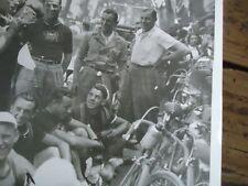 TOUR DE FRANCE 1936 PHOTO COUREUR BELGE MEULENBERG CHANTE DIGNE NICE VELO