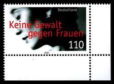 2093 ** - Keine Gewalt gegen Frauen - Eckrand unten rechts - postfrisch