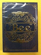 Blue Royal BEE Metalluxe Playing Cards (RARE China Exclusive)