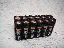 Black Holder for 12 AA Batteries -perfect for emt, mechanics, peppers or camping