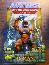 MOTU Classics HE-MAN THE ORIGINAL  Figure  2nd PRINT NEW