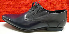 NEW Ben Sherman EU 43 US 10 Blue Leather Formal Dress Business Shoe Lace-Up $190