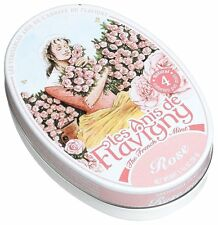 Les Anis De Flavigny Rose Mints 1.75 Ounce Tin (PACK OF THREE)