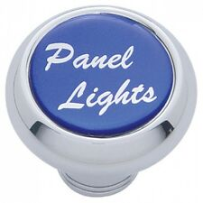 deluxe knob panel lights blue glossy sticker for Freightliner Kenworth Peterbilt