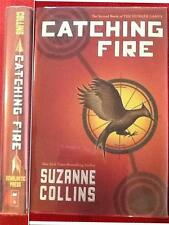 Catching Fire Suzanne Collins HUNGER GAMES TRILOGY FIRST ED/FIRST PRINTING HC DJ