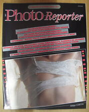 PHOTO REPORTER MAGAZINE N°45 JUIL 82 BRIAN GRIFFIN PHILIPPE UGHETTO