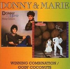 Donny & And Marie - Osmond - Winning Combination - Goin Coc (NEW CD)