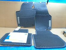 VOLKSWAGEN PASSAT 2012-2017 OEM WOLFSBURG MONSTER ALL WEATHER RUBBER FLOOR MATS