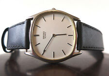 Rare 70's NOS SEIKO 7800-5109 SLEEK THIN MINIMAL DESIGN TV DIAL VINTAGE WATCH