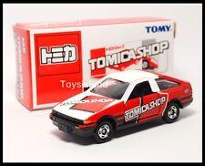 TOMICA SHOP TOYOTA SPRINTER TRUENO LEVIN AE86 1/61 TOMY DIECAST CAR