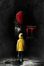 IT (2017)Authentic Original Movie Poster - DS - 27x40 - Stephen King - Pennywise