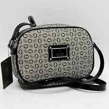 GUESS AUTHENTIC REBA BLACK SIGNATURE SMALL CROSSBODY BAG HANDBAG PURSE NWT