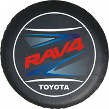 Spare Wheel Tire Cover TOYOTA RAV4 Tire Cover Beauty Logo HD Vinyl