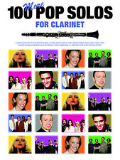 100 More Pop Solos for Clarinet Sheet Music Book *NEW*