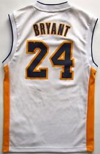LA Lakers #24 Kobe Bryant 2013 Adidas basketball white shirt jersey NBA XS