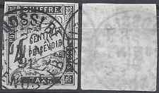 "COLONIE TAXE N°4 - OBLITÉRATION CACHET A DATE ""NOSSI-BE""  - COTE MAURY 100€"
