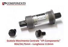 """0440 Scatola Movimento Centrale """"VP"""" 113mm-BSA per bici 26-28 Fixed Scatto Fisso"""