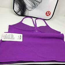 Lululemon Power Y Tank. Moonlit Magenta. Size 12