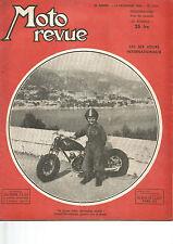 """MOTO REVUE N°1.011 L'ADLER """"M100"""" / PROBLEME ECHAPPEMENT SUR LES DEUX TEMPS"""