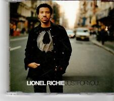 (FM556) Lionel Richie, Just For You - 2004 DJ CD