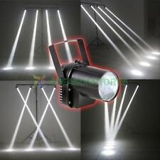 LED White Beam Spotlight Dance Xmas Party Stage Light Pinspot Lighting DJ Bar #4