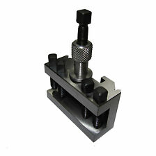 RDG TOOLS T1 HOLDER 20MM CAPACITY QUICKCHANGE TOOLPOST QUICK CHANGE ENGINEERING