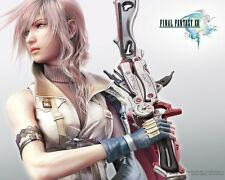 POSTER FINAL FANTASY 13 XIII LIGHTING SNOW VERSUS #23