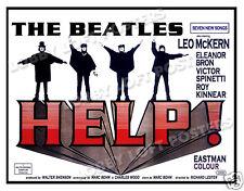HELP LOBBY CARD POSTER BQ 1965 THE BEATLES JOHN LENNON PAUL McCARTNEY FAB FOUR