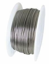 "Stainless Steel Wire Rope - 316SS - 1 x 19 - 1/8"" Cable Railings - 100 FT"