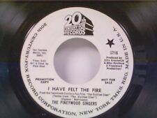 """PINEYWOOD SINGERS """"I HAVE FELT THE FIRE / LE GOFF'S THEME"""" 45 PROMO"""