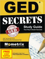 GED Secrets Study Guide: GED Exam Review For The General Educational Development