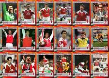 Arsenal 1994 European Cup Winners Cup final winners football trading cards